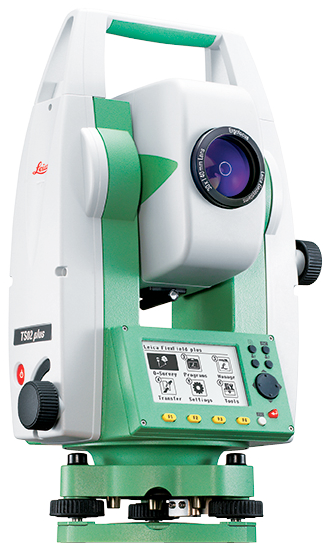 Электронный тахеометр Leica FlexLine TS02 plus